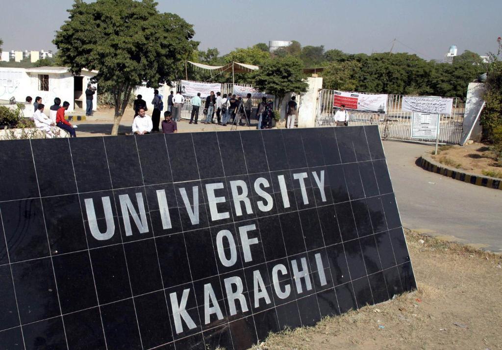 karachi university silver jubliee gate closed