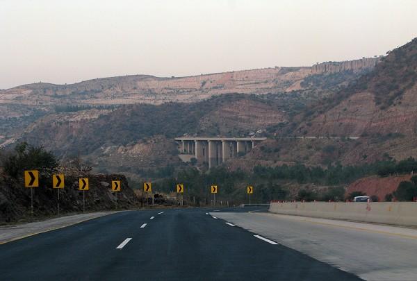 Kallar Kahar bridge motorway
