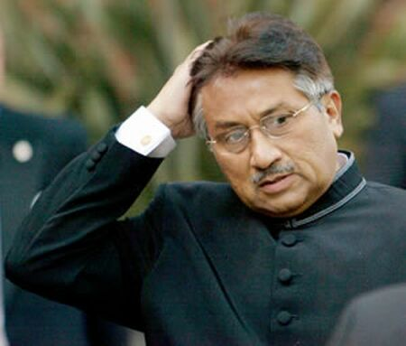 musharraf desire power in pakistan