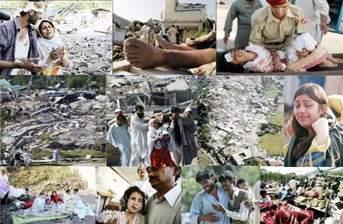 earth quake 8 october 2005 in urdu 2005 pakistan earthquake date october 8, 2005 () magnitude 76 m w: depth 10 km epicenter location muzaffarabad, ajk countries  the 2005 kashmir earthquake .