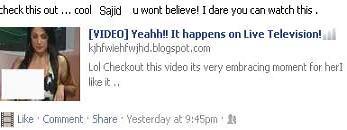 Facebook virus video