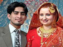 Jibran Khan with his With polish Wife Hamna
