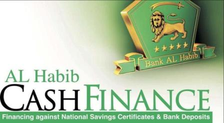 cash finance bank al habib