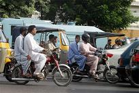 Pillion Riding ban karachi april