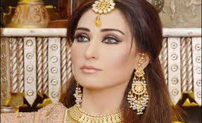 Pakistani actress Reema Khan