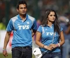 Shoaib Malik And Sania Mirza IPL 2012
