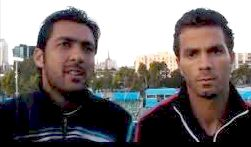 Aisam ul Haq and his new partner