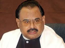 Altaf Hussain sad