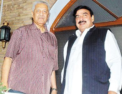 Dr. A.Q Khan Met Shiekh Rasheed