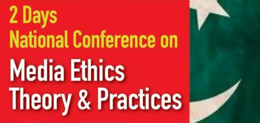 media ethics conference in Islamabad