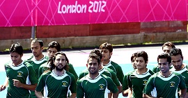 pakistan hockey london olympics