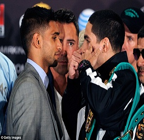 Amir Khan Danny Garcia fight