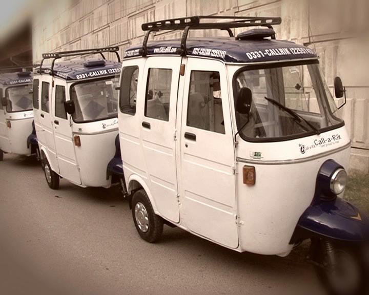 New rickshaws in karachi RIK
