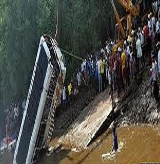 bus fell into Himachal Pradesh gorge