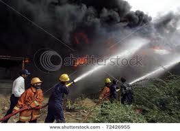 fire in sher shah site chemical factory