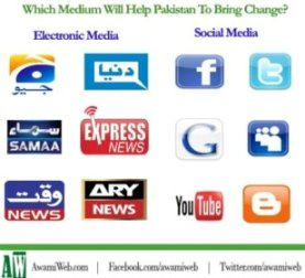 which medium will help pakistan?