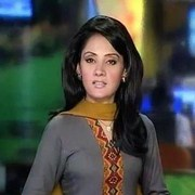 Gharida Farooqi newscaster