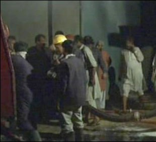 fire in shershah oil factory
