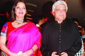 javed akhtar and Shabana Azmi Pakistan