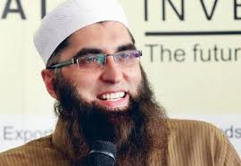 ... the active member of Tablighi Jamaat Junaid Jamshed made his short return to singing as he was seen performing live with secular fanatic Salman Ahmed, ... - junaid-jamshed-singing-with-salman-ahmed
