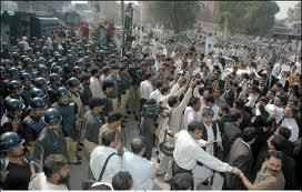 lahore protest