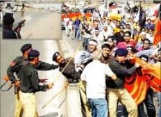 University students protest thursday