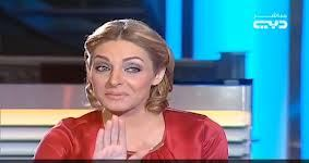 dubai female tv host and egypt minister