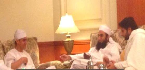 maulana tariq jameel and aamir khan photo