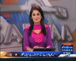 Newscaster Farah Yousuf