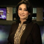 Newscaster Shazia Khan