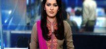 newscaster Ayesha Bakhsh