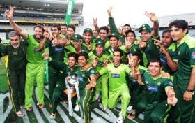 Pakistani cricket team-image
