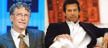 bill gates imran khan