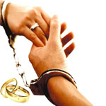 Marriage-handcuff