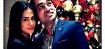 veena malik with husband