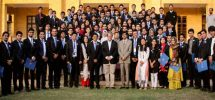 Youth Parliament Oath Ceremony group photo
