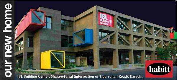Habitt Now Open At Ibl Building Centre Shara E Faisal