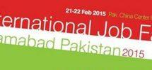 international job fair poster