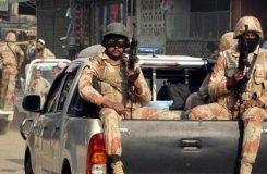 Sindh rangers arrest