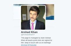 chai wala arshad khan social media
