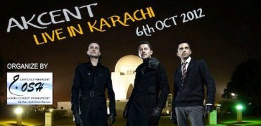 akcent concert in karachi on 6 october