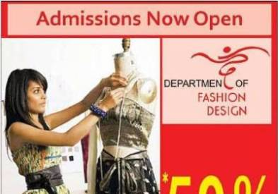 Biztek Fashion Designing Admissions 2012 Now Open