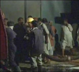 fire in shershah oil factory