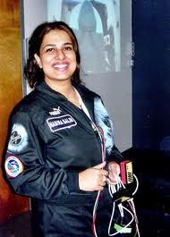Namira Salim going into space