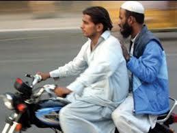 pillion riding ban in Balochistan