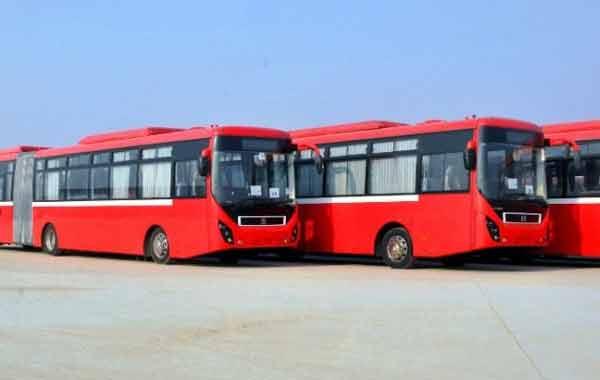 Metro bus system pakistan