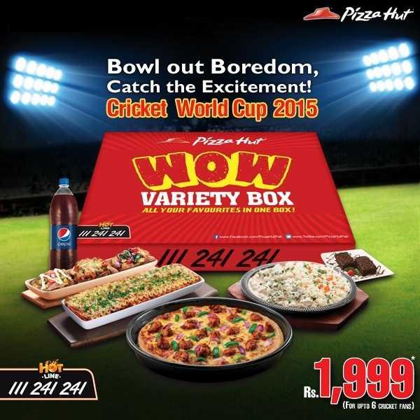 pizza hut wow variety box poster