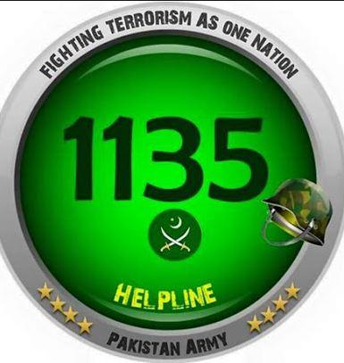 Pakistan Army Helpline