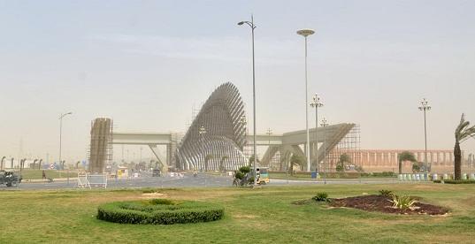 bahria town karachi main gate