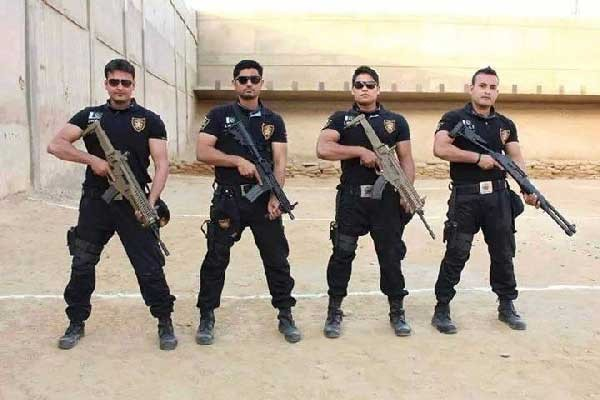 Special Security Unit commandos